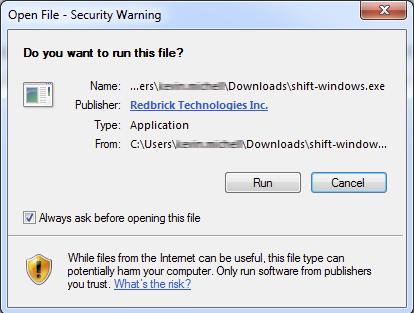 Instructions Windows