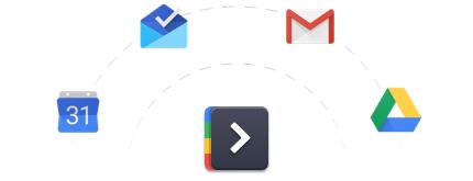 Shift google rainbow