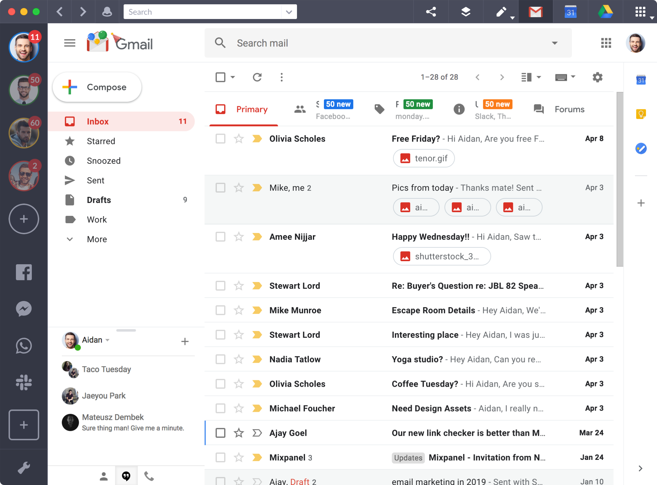 Shift - The Best Way to Manage All of Your Email and App